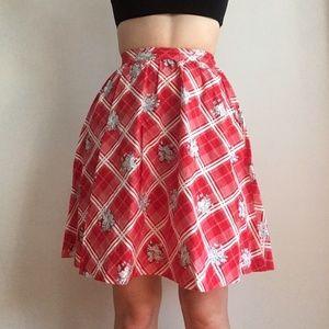 Vintage picnic skirt CUTE